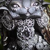 Куклы и игрушки handmade. Livemaster - original item Silver Tu-Tang. Cat race.. Handmade.