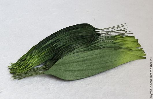 Листья лилии бумага малбери My Thai Мтаериалы для цветов из Таиланда