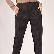 Одежда handmade. Livemaster - original item Wool pants plaid. Handmade.