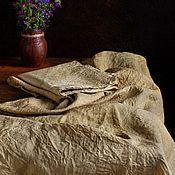 """Салфетки ручной работы. Ярмарка Мастеров - ручная работа Комплект текстиля """"Хаки"""". Handmade."""