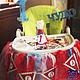 Вот так с помощью наших атрибутов мама маленькой Эвиты оформила столик для малышки.  Спасибо за предоставленные фото.