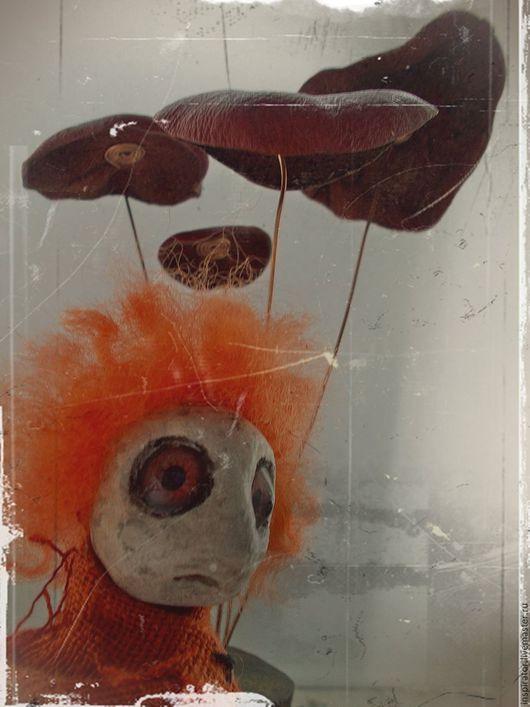 Сказочные персонажи ручной работы. Ярмарка Мастеров - ручная работа. Купить Инспирация 001. Handmade. Рыжий, пенопласт, ракушка