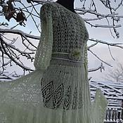 """Одежда ручной работы. Ярмарка Мастеров - ручная работа Платье  вязаное """"Метелица"""". Handmade."""