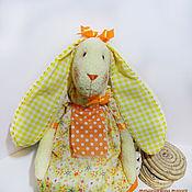 Куклы и игрушки ручной работы. Ярмарка Мастеров - ручная работа Зайка Подсолнушка. Handmade.