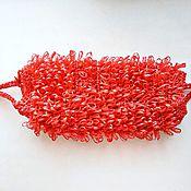 Мочалки ручной работы. Ярмарка Мастеров - ручная работа Вязаная мочалка ручной работы. Handmade.