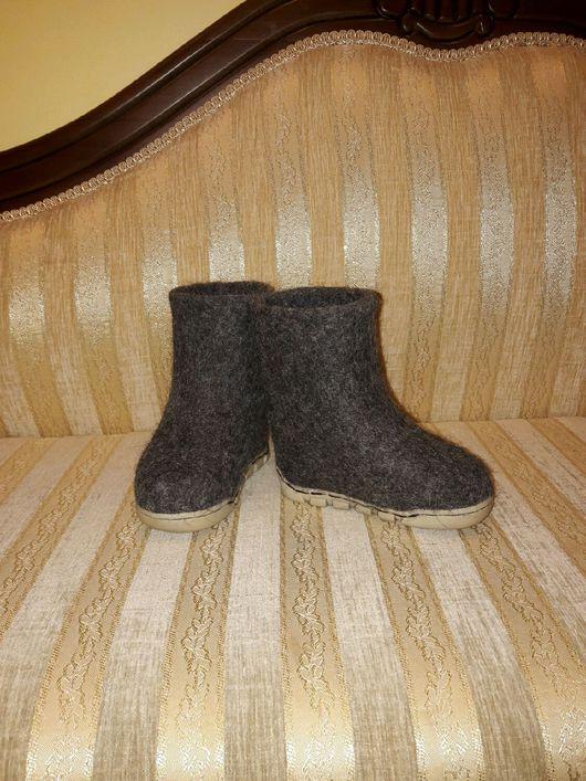 Обувь ручной работы. Ярмарка Мастеров - ручная работа. Купить Валенки детские.. Handmade. Валенки ручной валки, Валенки детские