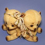 Куклы и игрушки ручной работы. Ярмарка Мастеров - ручная работа Мишки-малышки. А ты меня любишь?.. Ага!... Handmade.