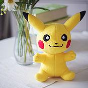 Куклы и игрушки handmade. Livemaster - original item Pikachu (Pikachu, Pokemon) Pokemon. Handmade.