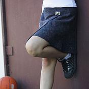 """Работы для детей, ручной работы. Ярмарка Мастеров - ручная работа Валяная юбка для девочки """"Розы в графите"""". Handmade."""
