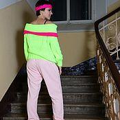 Одежда handmade. Livemaster - original item Fluorescent track suit. Handmade.