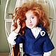Коллекционные куклы ручной работы. Лаура. Елена (DollyPolly). Ярмарка Мастеров. Коллекционная кукла, хлопковое кружево