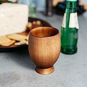 Посуда handmade. Livemaster - original item A glass of natural Wood 11#23. Handmade.