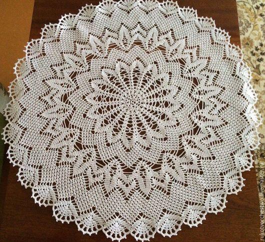 Текстиль, ковры ручной работы. Ярмарка Мастеров - ручная работа. Купить Ажурная салфетка. Handmade. Handmade, вязание на заказ