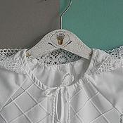 Работы для детей, ручной работы. Ярмарка Мастеров - ручная работа крестильное платье  ПЕЛАГЕЯ. Handmade.