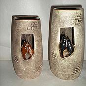 Для дома и интерьера ручной работы. Ярмарка Мастеров - ручная работа аромалампа-кошкин дом. Handmade.