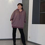 Одежда handmade. Livemaster - original item Sweatshirt purple