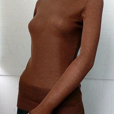 Одежда ручной работы. Ярмарка Мастеров - ручная работа Водолазка из кашемира на шелке. Handmade.