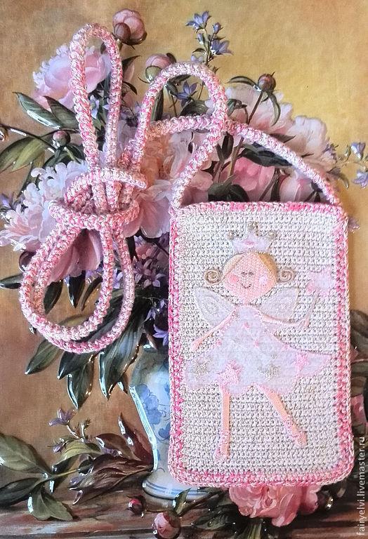 """Для телефонов ручной работы. Ярмарка Мастеров - ручная работа. Купить Чехол для телефона """"Ангельская принцесса"""". Handmade. Чехол для телефона"""