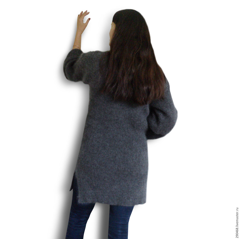 Sweater Jackets & Sweaters handmade. Livemaster - handmade. Buy Downy sweater OVERSIZED.Grey, warm gift, buy sweater