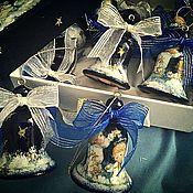 Подарки к праздникам ручной работы. Ярмарка Мастеров - ручная работа Новогодние колокольчики! Ангелы.. Handmade.