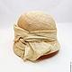 Шляпы ручной работы. Ярмарка Мастеров - ручная работа. Купить Соломенная шляпа, шляпка клош Летняя. Handmade. Шляпка