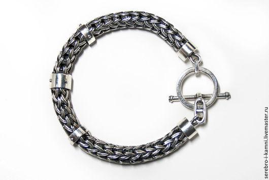 Браслеты ручной работы. Ярмарка Мастеров - ручная работа. Купить браслет мужской серебро 925 кельтский. Handmade. Серебряный