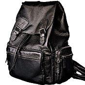 Сумки и аксессуары handmade. Livemaster - original item Backpack. M0092.  Leather. Handmade. Individual order. Handmade.