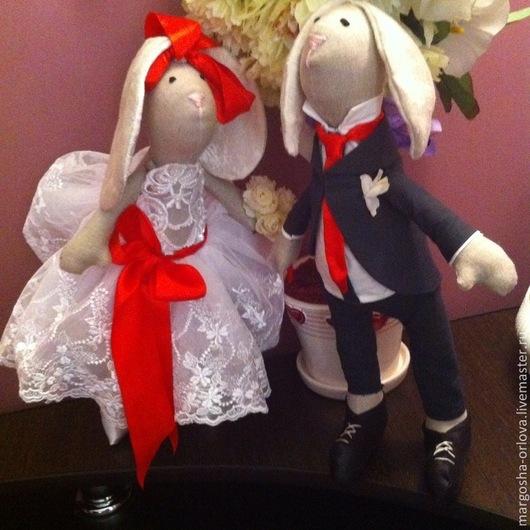 Куклы Тильды ручной работы. Ярмарка Мастеров - ручная работа. Купить тильда жених и невеста. Handmade. Невеста, жених
