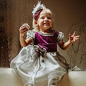 Работы для детей, ручной работы. Ярмарка Мастеров - ручная работа платье для девочки Скандинавская принцесса. Handmade.