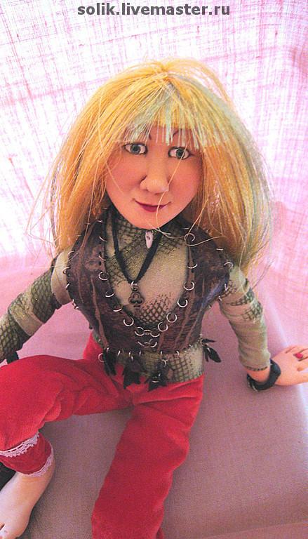 """Коллекционные куклы ручной работы. Ярмарка Мастеров - ручная работа. Купить """"Кики Морка""""  - Авторская кукла. Handmade. Авторская кукла"""
