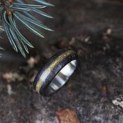 Украшения handmade. Livemaster - original item Copy of Copy of Copy of Wooden rings with turquoise. Handmade.