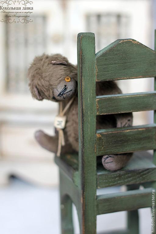 Мишки Тедди ручной работы. Ярмарка Мастеров - ручная работа. Купить Митя и медведь. Handmade. Мишка, мишка в одежде, бежевый