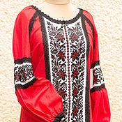 """Одежда ручной работы. Ярмарка Мастеров - ручная работа Блуза женская """"Файна"""", вышиванка. Handmade."""
