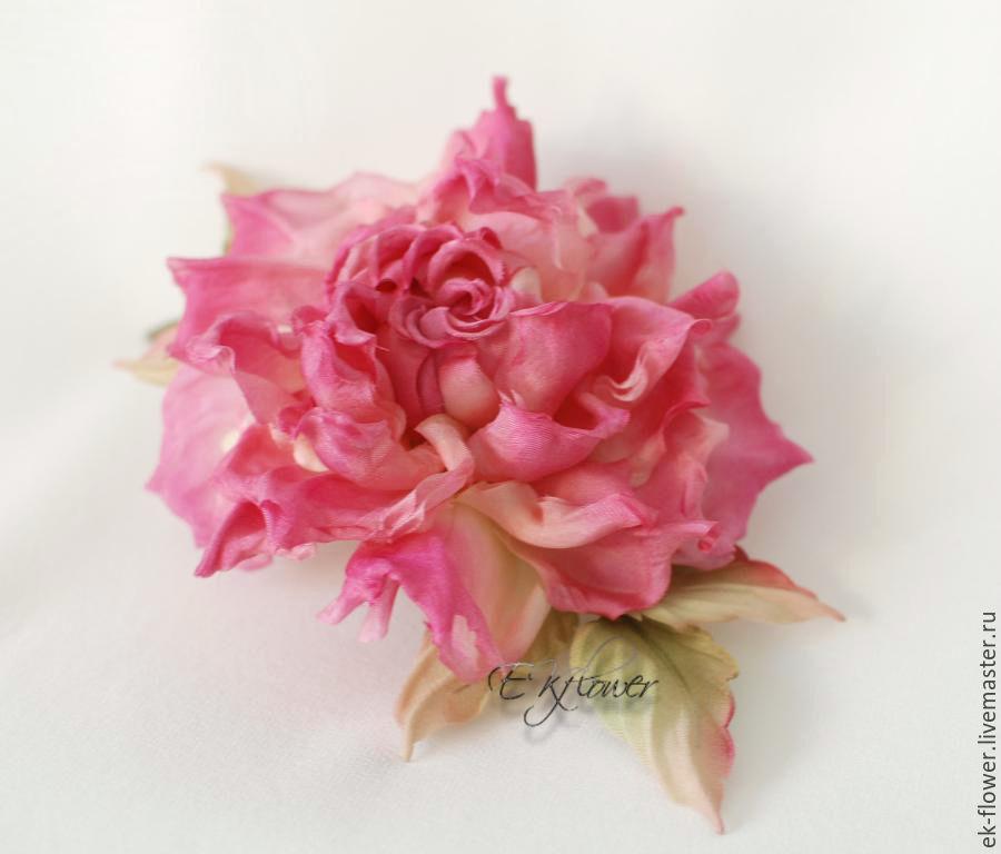 Fabric flowers silk flowers rose milenia shop online on flowers handmade livemaster handmade buy fabric flowers silk flowers mightylinksfo