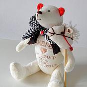 Куклы и игрушки ручной работы. Ярмарка Мастеров - ручная работа мишка_метрики Андрей. Handmade.