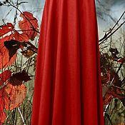 """Одежда ручной работы. Ярмарка Мастеров - ручная работа теплая осенняя юбка в пол """"Япония"""". Handmade."""