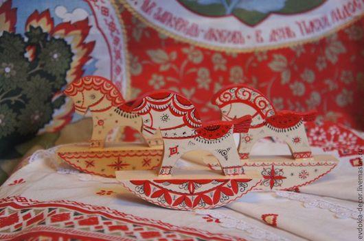 Сувениры ручной работы. Ярмарка Мастеров - ручная работа. Купить деревянная лошадка. Handmade. Лошадка, сувенир, расписная