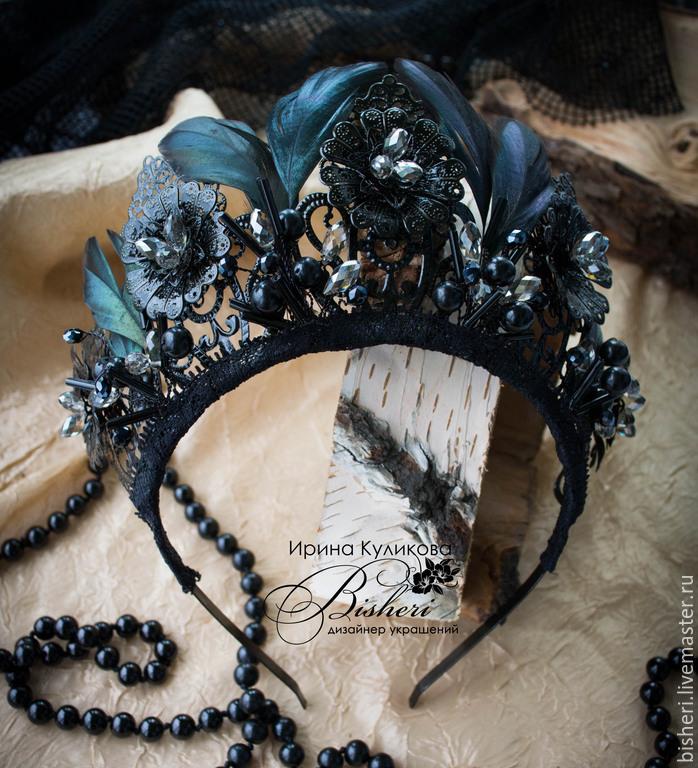 Как сделать черную корону