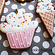 """Кулинарные сувениры ручной работы. Набор пряников """"Happy birthday"""". Cookie-boutique (Лилия). Интернет-магазин Ярмарка Мастеров. ребенок"""
