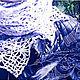 Egge. Вязание в стиле бохо. Мастерская Озорная Неженка.  Шали и палантины ручной работы. Ярмарка мастеров - ручная работа. Handmade. Фриформ.