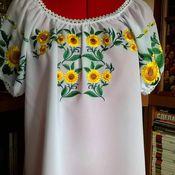 Одежда handmade. Livemaster - original item Embroidered women`s blouse