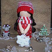 Куклы и игрушки handmade. Livemaster - original item Textile doll Pippa. Handmade.