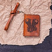 Канцелярские товары handmade. Livemaster - original item Cover for Kick-Ass documents. Handmade.