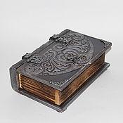 Для дома и интерьера handmade. Livemaster - original item The book - box is an Ancient Tome. Handmade.