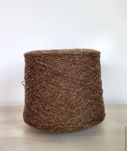 Вязание ручной работы. Ярмарка Мастеров - ручная работа. Купить Самарканд - 75% шерсть, 25% - шелк. Handmade. Коричневый