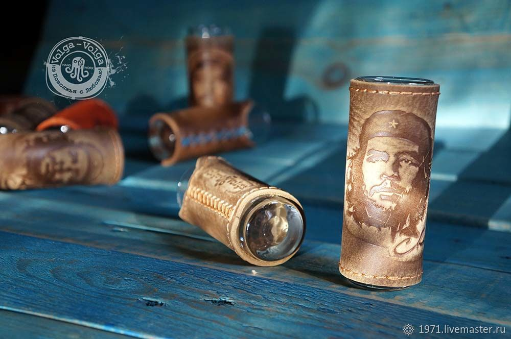 Shot glasses for tequila 'Che'.The number of items in set: 6, Shot Glasses, Tolyatti,  Фото №1