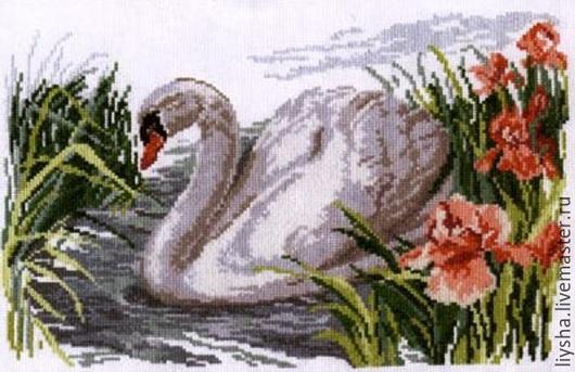 Животные ручной работы. Ярмарка Мастеров - ручная работа. Купить Одинокий лебедь. Handmade. Разноцветный, для дома и интерьера, ручная работа