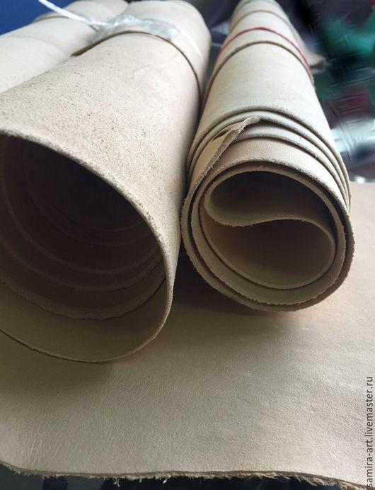 Шитье ручной работы. Ярмарка Мастеров - ручная работа. Купить Кожа 2.1-2.5мм (растительного дубления). Handmade.