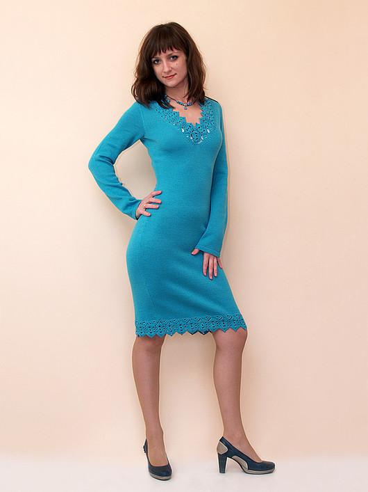 Платья ручной работы. Ярмарка Мастеров - ручная работа. Купить Платье вязаное 4392. Handmade. Платье, нарядное платье