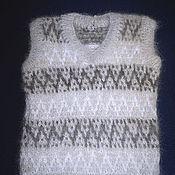 Работы для детей, handmade. Livemaster - original item Children`s knitted vest. Handmade.